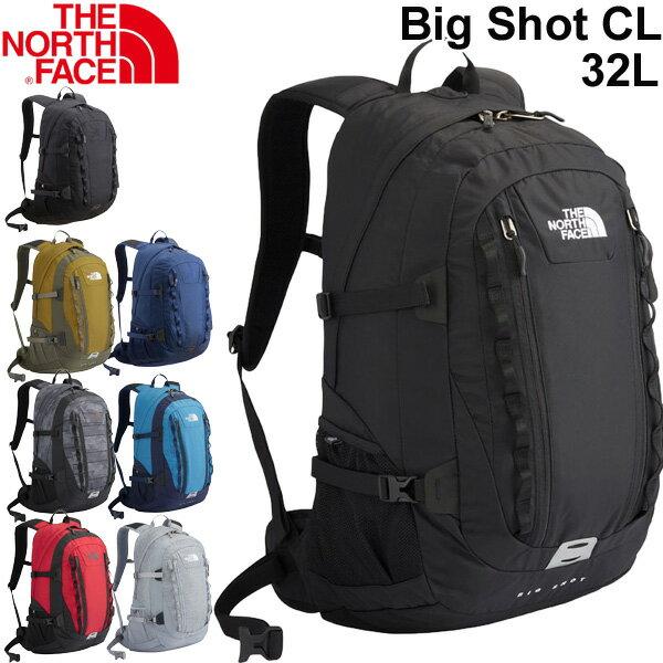 バックパック メンズ レディース ザノースフェイス THE NORTH FACE ビッグショット クラシック BIG SHOT CL 32L/リュックサック デイパック アウトドア 普段使い 通勤 通学 定番 多機能 鞄 かばん/NM71861