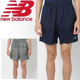 299c4e14a76c0 ランニングパンツ ショートパンツ メンズ ニューバランス newbalance アクセレレイトグラフィック7インチショーツ(インナーなし)/ジョギング  マラソン トレーニング ...