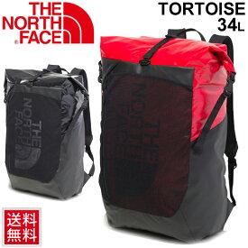 リュック デイパック バッグ メンズ レディース ノースフェイス THE NORTH FACE トータス 34L バックパック ロールトップ式 アウトドア カジュアル 男女兼用 鞄 かばん/NM81856
