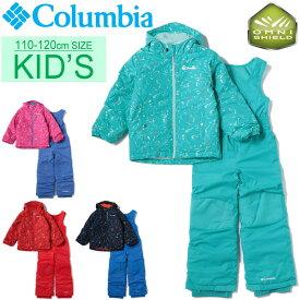 キッズ ジャケット カバーオール 男の子 女の子 子ども コロンビア Columbia フロスティスロープセット 子供服 110cm 120cm 中綿 裏フリース 防寒着 雪あそび 冬 アウトドア レジャー かわいい/SY1092-