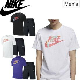26263bb530cb90 半袖Tシャツ ハーフパンツ 上下セット 2点セット メンズ NIKE ナイキ スポーツウェア トレーニング