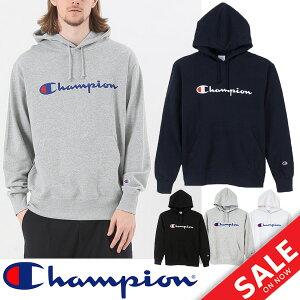 スウェット 長袖 パーカー メンズ チャンピオン champion 男性用 スエット プルオーバー トレーナー スポーツ カジュアル ストリート 定番 ロゴ C3J117 トップス 正規品/C3-J117