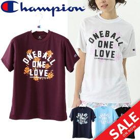 Tシャツ 半袖 レディース チャンピオン champion E-MOTION プラクティスシャツ バスケットボール 女性用 練習 トレーニング 部活 プラシャツ 抗菌・防臭 トップス スポーツウェア/CW-MB327
