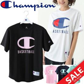 Tシャツ 半袖 レディース チャンピオン champion バスケットボール トレーニング 女性用 ビッグロゴ スポーツウェア トップス/CW-MB356