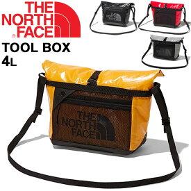 ショルダーバッグ メンズ レディース ノースフェイス THE NORTH FACE ツールボックス Tool Box 4L/アウトドア カジュアル メッセンジャーバッグ 男女兼用 鞄 斜めがけ ロゴ かばん/ NM81860