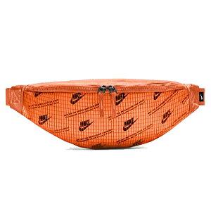 ウエストポーチ バッグ メンズ レディース ナイキ NIKE ヘリテージ MTRL ヒップバッグ/スポーツバッグ ウエストバッグ 斜めがけ ボディバッグ オレンジ 鞄 男女兼用 タウン 普段使い かばん/CK74