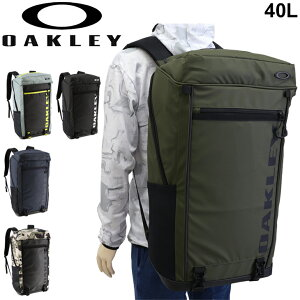 リュック 大容量 40L バックパック オークリー OAKLEY ESSENTIAL SQUARE P XL 5.0/スポーツバッグ ボックス型 トレーニング ジム かばん/FOS900673【ギフト不可】