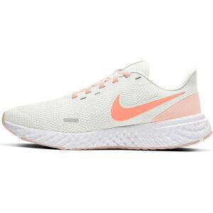 ランニングシューズ レディース スニーカー ナイキ NIKE レボリューション5/ジョギング トレーニング 白 ホワイト 女性 運動靴 REVOLUTION 5 スポーツシューズ/BQ3207-109