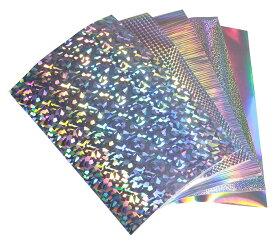【1枚からOK】【全3種類】ホログラムシート A3サイズ【約30cm×42cm】 カッティング用シート カッティングシール カッティングステッカー コンサート用うちわ デコレーションに ホログラムステッカー ホログラムシール ホログラムテープ 光沢 文字