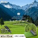 【人工芝】RESTAオリジナル 近づいてもリアルな人工芝 35mm トゥフ・デルブ 1×10m U字ピン24本付き 【送料無料】__re…