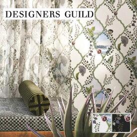 【壁紙】【のり無し】輸入壁紙 ツタで描かれたパターン柄 DESIGNERS GUILD*PCL7016-02 PCL7016-01__tc-
