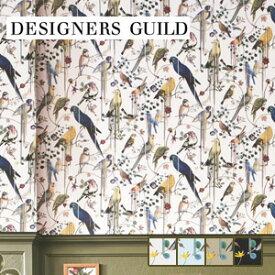 【壁紙】【のり無し】輸入壁紙 リアルな鳥柄が印象的な壁面に DESIGNERS GUILD*PCL7017-02 PCL7017-06 PCL7017-04 PCL7017-01__tc-