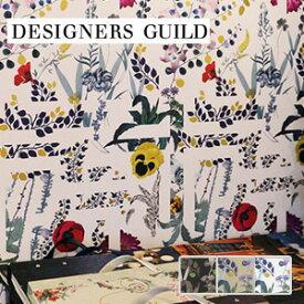 【壁紙】【のり無し】輸入壁紙 カラフルな植物が印象的なデザイン DESIGNERS GUILD*PCL7018-06 PCL7018-04 PCL7018-02__tc-