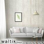 waltik輸入壁紙フリースタイプ幅52.5cm×10m巻WhiteWood(ホワイトウッド)