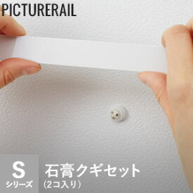 【ピクチャーレール】TOSO ピクチャーレール Sシリーズ対応 石膏クギセット(2コ入り) __pi-to-s1-sk
