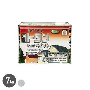 【塗料】トタンつやありペイント シルバー 7kg__np-zinc-700-sil