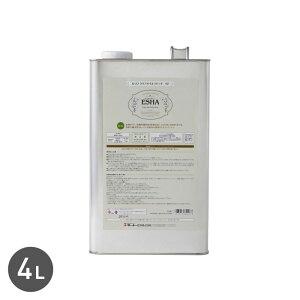 【塗料】乾燥が早く、水をはじき、木材を保護する ESHA クリアオイル ラピッド 4L__esha-s27-400