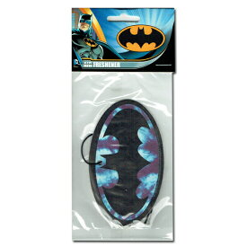 5枚以上購入でメール便送料無料!【Batman Tie Dye Logo Air Fresheners】バットマン/DCコミック/アメコミ/ロゴ/コウモリ/エアフレッシュナー/芳香剤/AirFreshener/カーフレッシュナー/ 【ポイント】05P03Dec16