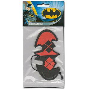 5枚以上購入でメール便送料無料!【Batman Argyle Logo Air Freshener】バットマン ロゴ アーガイル DC コミック アメコミ ロゴ コウモリ エアフレッシュナー 芳香剤 AirFreshener カーフレッシュナー【ポ