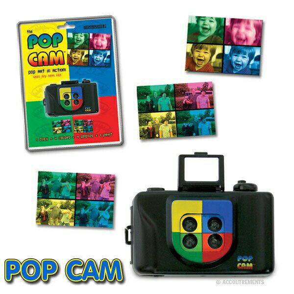 【Pop Cam ポップカメラ】トイカメラ アナログカメラ レトロ びっくり おもちゃ おもしろ カラフル インスタ映え フォトジェニック おしゃれ かわいい SNS 盛 パーティ【ポイント】05P03Dec16