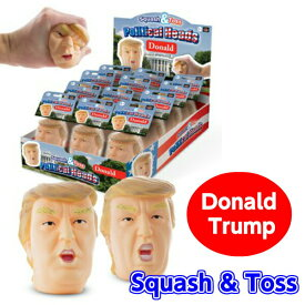 メール便OK【Donald Trump Squash&Toss】ドナルドトランプ/スカッシュ&トス/ボール/ストレス/解消/にぎにぎ/ニギニギ/顔/プレゼント/おもしろ/【ポイント】05P03Dec16