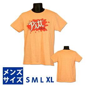 グラビティフォールズ ピット コーラ ロゴ Tシャツ【オレンジ】【S】【M】【L】【XL】Gravity Falls Pitt Cola Pin T-shirt 半袖 US【ポイント】