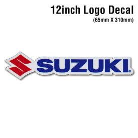 【D'COR 12 inch Suzuki Decal】ディコール 12インチサイズ スズキ ダイカットロゴステッカー デカール /MOTOCROSS/モトクロス/ATV/四輪バギー/モータースポーツ/スポーツバイク【正規品】/【ポイント】05P03Dec16