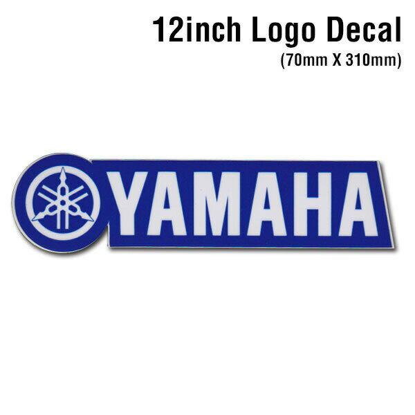 【D'COR 12 inch Yamaha Decal】ディコール 12インチサイズ ヤマハ ダイカットロゴステッカー デカール /MOTOCROSS/モトクロス/ATV/四輪バギー/モータースポーツ/スポーツバイク【正規品】/【ポイント】05P03Dec16