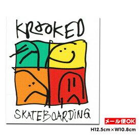 【メール便OK】クルキッド ステッカー Krooked KD Ultra Sticker スケートボード スケボー USA アメリカ ダイカット シール デカール 【ポイント】