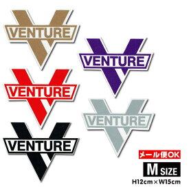 【メール便OK】ベンチャートラック クロスバー シャープ ダイカットステッカー Mサイズ【Venture Truck Cross Bar sharp Diecut sticker M】スケートボード スケボー シール デカール Venture Truck サーファー【ポイント】