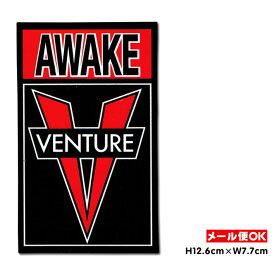 【メール便OK】ベンチャートラック アウェイク ステッカー【Venture Trucks Awake Sticker M】スケートボード スケボー シール デカール Venture Truck【ポイント】