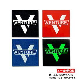 【メール便OK】ベンチャートラック ロゴステッカー【Venture Cross Bar Logo sticker】スケートボード スケボー シール デカール Venture Truck サーファー【ポイント】