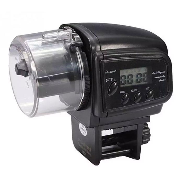 自動給餌器 魚 水槽用 フードタイマー オートフィーダー 留守時でも安心 餌やり器 配給量調整可能 デジタル表示 電池式 ◇AF-2009D