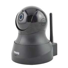 Tenvis テンビス TH661 グローバル版 高画質 ネットワーク 防犯 ベビーカメラ PCレス wifi 接続 P2P 赤外線 暗視 スマホ タブレット 対応 ◇TH661-GL