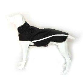 犬用 レインコート ジャケット レインウェア 面ファスナー 反射テープ 雨の日 おでかけ アウトドア 小型犬〜中型犬向け 【ペット用品】 ◇VC-DRAIN