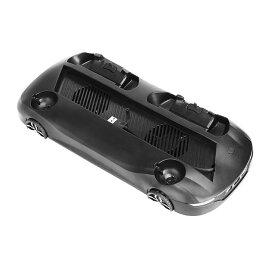 PS4 PRO・SLIM用 縦置きスタンド コントローラー Move モーションコントローラー 充電対応 車の形 3つUSBポート 冷却ファン付き 組立不要 ◇PS4-CARSTAND