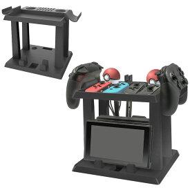 Nintendo Switch用 縦置き収納スタンド 周辺機器 ホルダー スイッチ本体 Joy-Con PROコントローラー モンスターボールPLUS 収納 【並行輸入品】 ◇HBS-137