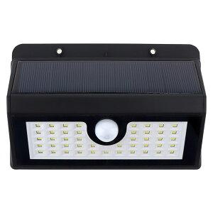 45LED ソーラーライト ウォールライト 人感 センサーライト PIRモーションセンサー 夜間自動点灯 IP44防水 太陽光充電 屋外 玄関灯 壁 玄関 ソーラー センサー 人感センサー 人感ライト 自動点