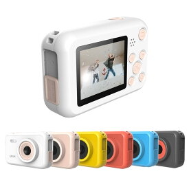 SJCAM FunCam こどもカメラ 子供用 デジタルカメラ キッズ カメラ USB充電式 写真撮影 ビデオ録画 2.0インチ液晶 800mAh内蔵バッテリー ◇SJ-FUNCAM【定形外郵便】