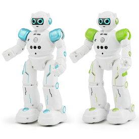CADY WIKE R11 ロボット おもちゃ 男の子 女の子 電動ロボット リモコン操作 ジェスチャーコントロール 歩く ダンス 英語 USB充電式 【並行輸入品】 ◇JJRC-R11