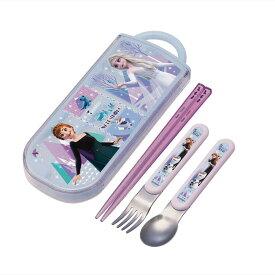 【180円メール便対応1点まで】TACC2AG(Anna&Elsa/アナと雪の女王21) 抗菌食洗機対応スライドトリオセット【SKATER】2021