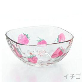 6124フルーツドロップ スクエアボウル イチゴボール(fruits drops スクエアボウル) 【アデリア】