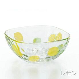 6127フルーツドロップ スクエアボウル レモンボール(fruits drops スクエアボウル) 【アデリア】【NEW】