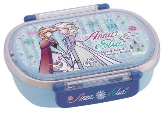 QA2BA(アナと雪の女王)食洗機対応タイトランチボックス小判(中子付)【SKATER】18新柄