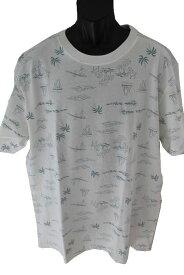 ピコ PIKO メンズ半袖Tシャツ ホワイト 新品