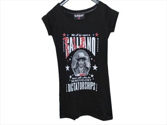 Product made in SUNDAY21 Lady's over T-shirt short sleeves tunic black Italy
