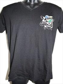 エドハーディー ed hardy メンズ半袖Tシャツ ブラック M02CMVB052