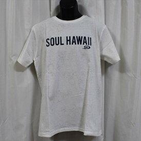 ピコ PIKO メンズ半袖Tシャツ ホワイト 新品 白 HAWAIIAN LONGBOARD WEAR