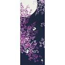 【濱文様・絵てぬぐい】月光の夢