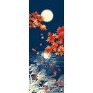 【濱文様・絵てぬぐい】秋の月明かり